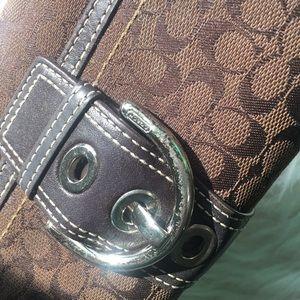 Coach buckle wallet